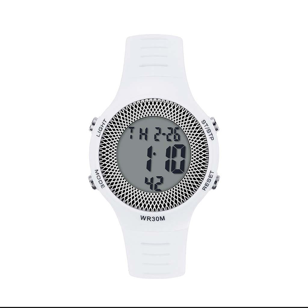 Boutique Simple Color sólido 30M reloj electrónico resistente al agua reloj de señoras relojes de diseñador reloj de lujo mujer montre femme #10
