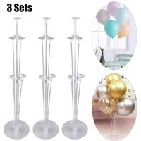 balloon holder column balloons stand stick balons birthday party decorations kids detachable cup stick stand party decor