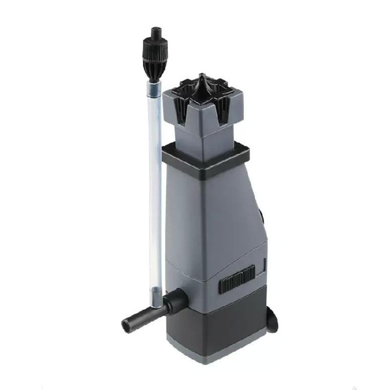 3w 300l/h sunsun aquário superfície proteína skimmer remover o óleo para planta de água tanque de peixes skimmer filtro