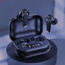 Mini Bluetooth 5.0 Earphone LED Display Waterproof Wireless Headphone Hifi Stereo Noise Reduction Ea