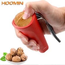 HOOMIN Quick Chestnut Gadgets Clip Sheller Opener Cutter Clamp Plier Funnel Shape Hazelnut Walnut Pliers Zinc Alloy Kitchen Tool