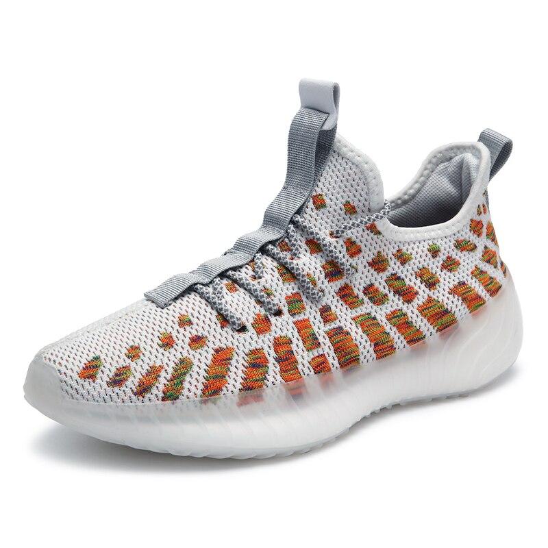 أحذية رياضية رجالية الهواء شبكة تنفس احذية الجري الساخن الصيف مريحة في الهواء الطلق المشي عدم الانزلاق أحذية 2021 جديد ماركة 39-45
