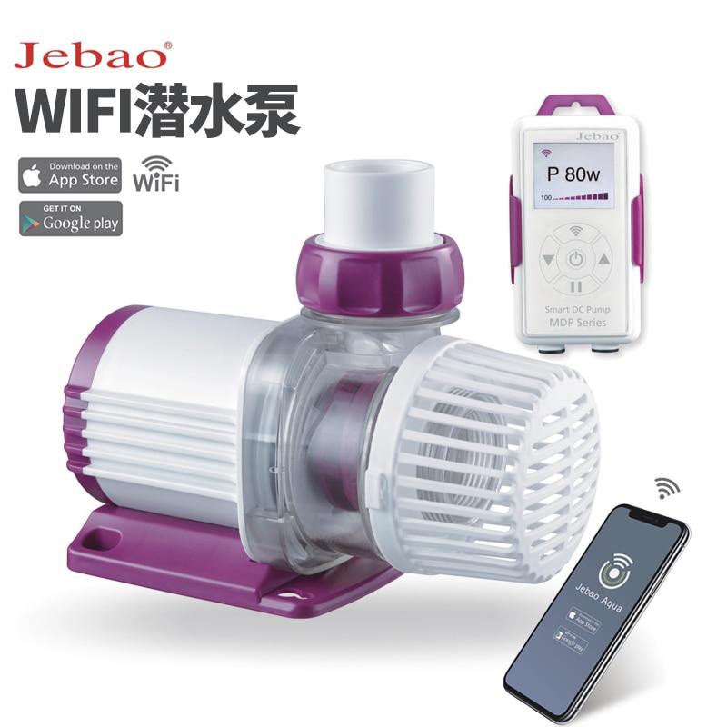 Jebao جديد شاشة الكريستال السائل مع MDP-2500 التحكم Wifi 3500 5000 8000 10000 حوض للأسماك حوض للأسماك