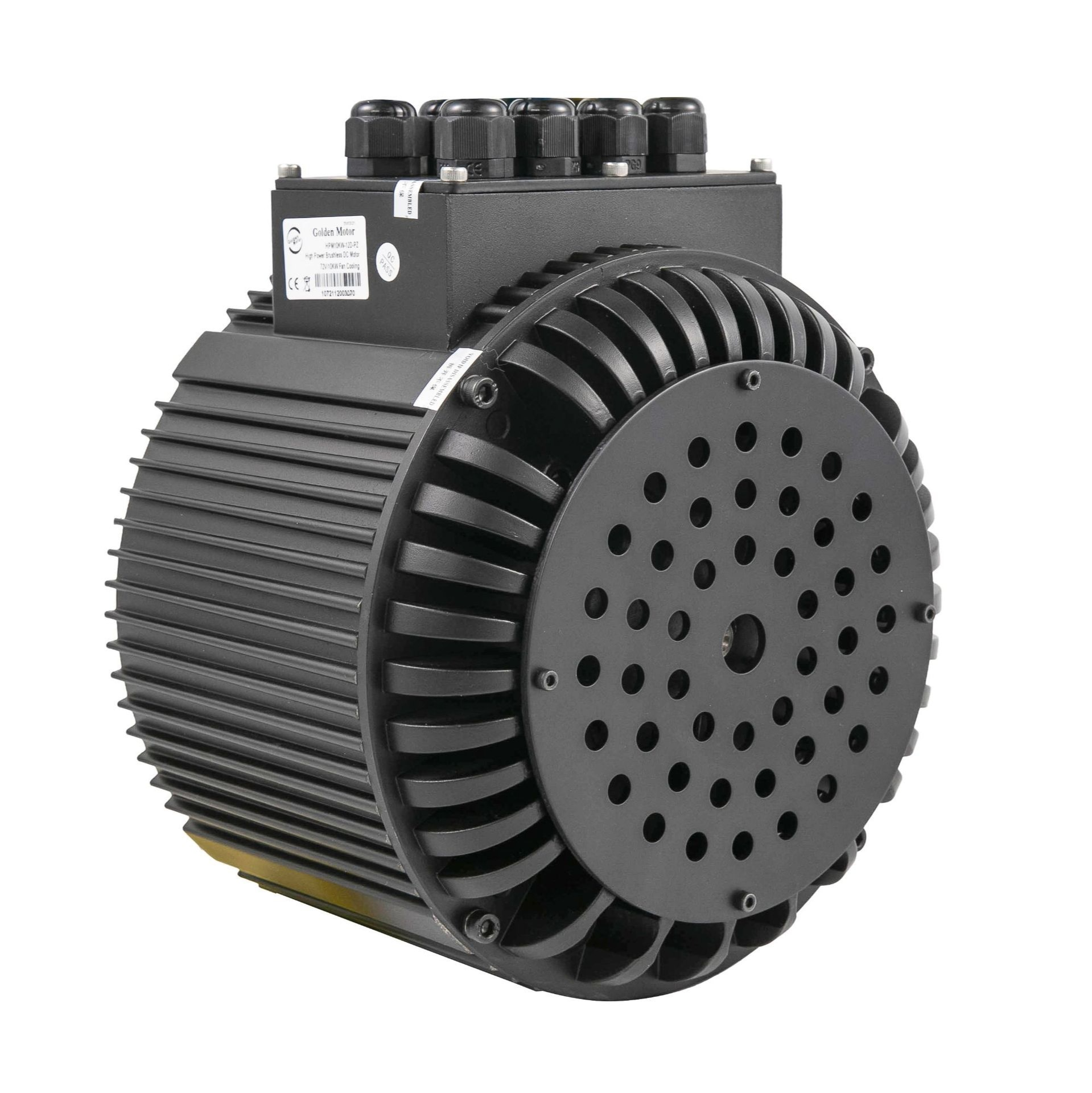 10Kw Electric Motorcycle Electric Boat Electric Car Electric Scooter Brushless Air-Cooled Motor