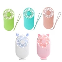 2021 Mini Portable Fan Pocket USB Air Cooler Electric Handheld Rechargable Cute Small Cooling Fans Student Home Travel Outdoor
