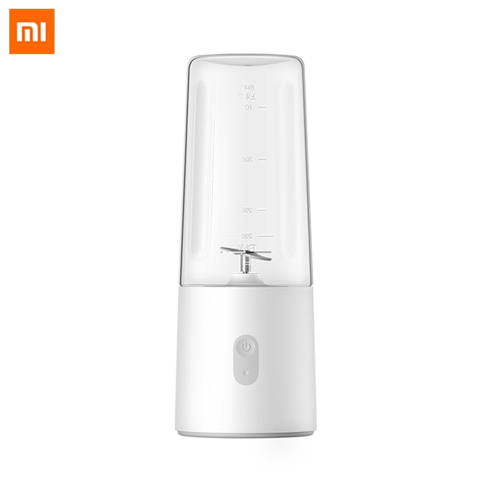 Exprimidor eléctrico Xiaomi Mi Mijia, licuadora portátil de zumo rápido de 350ml, mezclador de viaje recargable, taza de fruta, procesador de alimentos, limpieza automática