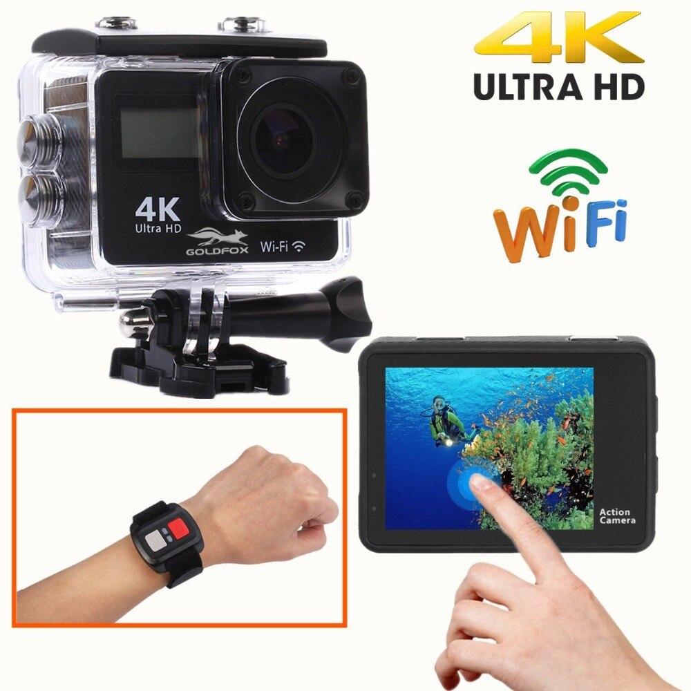 Touch Screen Ultra HD 4K Action Camera Wifi 1080P Dual Screen 170D Go Waterproof Pro cam 4K Sports Camera Mini DV Remote Control enlarge