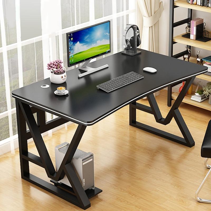 Современный офисный стол Tianang, компьютерный стол, учебный стол для ноутбука с металлической стальной рамой, простая сборка, рабочая станция ...