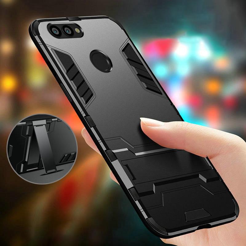 Phone Case For Huawei Y5 Y6 Y7 Prime Y9 2018 Y3 Y7 Prime 2017 P Smart Cases For Huawei Nova2 2S Plus Lite Cover Hybrid Rubber