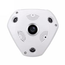 Caméra de vidéosurveillance à dôme AHD panoramique   2 mp et 4 mp, Surveillance vidéo analogique à grand Angle de sécurité à domicile