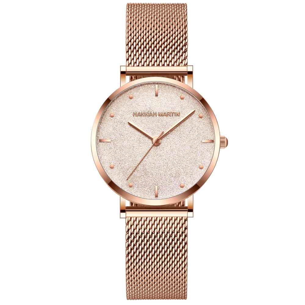 Anke Store 2020 New Relogio Women Watches Top Brand Luxury Japan Quartz Movement  Sliver White Dial Waterproof Wristwatches enlarge