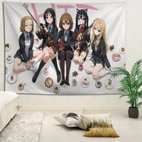 customized k on anime hanging fabric background wall covering home decoration blanket tapestry bedroomliving room wall decor