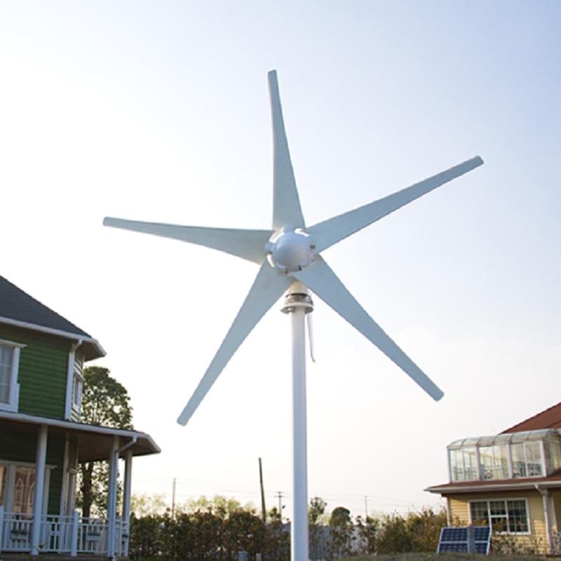 2021 جديد توربينات الرياح الصغيرة 12/24 فولت الخيار مولد الرياح جهاز التحكم في الشحن CE بنفايات شهادة 3 سنوات الضمان