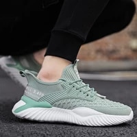 2021 summer mesh men shoes lightweight sneakers men fashion casual walking shoes breathable slip on mens loafers