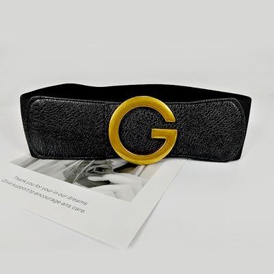 Designer belts for high-quality women corset luxury belt wide waist mujer elastic cummerbunds large