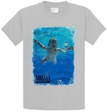 T-Shirt Nirvana Nevermind Grunge Rock Retro Vintage