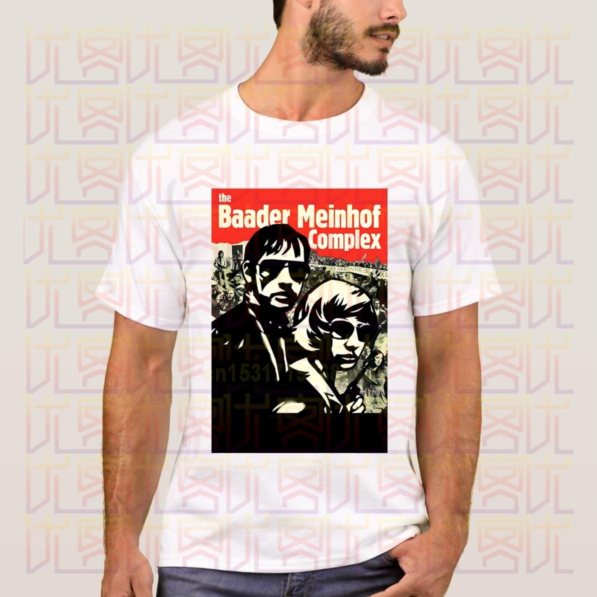 Yeni 2020 yaz RAF kırmızı ordu hizip Logo Baader Meinhof kompleksi 100% pamuklu gündelik tişört Homme Tees Tops S-4XL