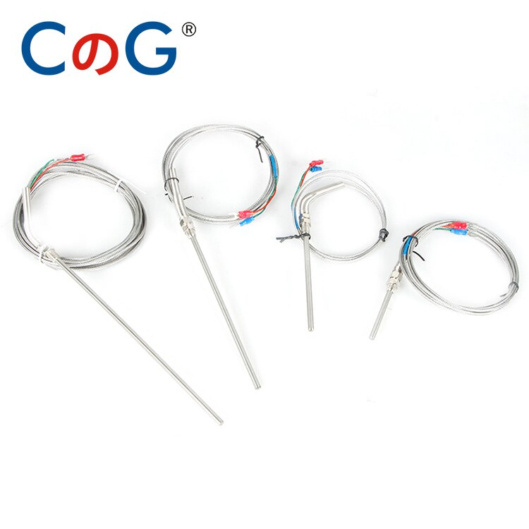 0-800 grad M8 1m 2m 3m 5m K J PT 100 Typ 50mm 150mm 100mm 200mm Sonde Schraube Gewinde Kabel Thermoelement Ofen Temperatur Sensor