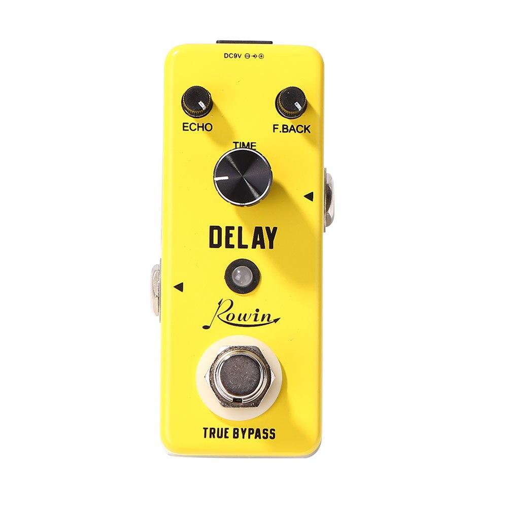 Para rowin guitarra dc 9v pedal da guitarra elétrica overdrive vintage/distorção crunch/distorção/eua sonho/coro clássico