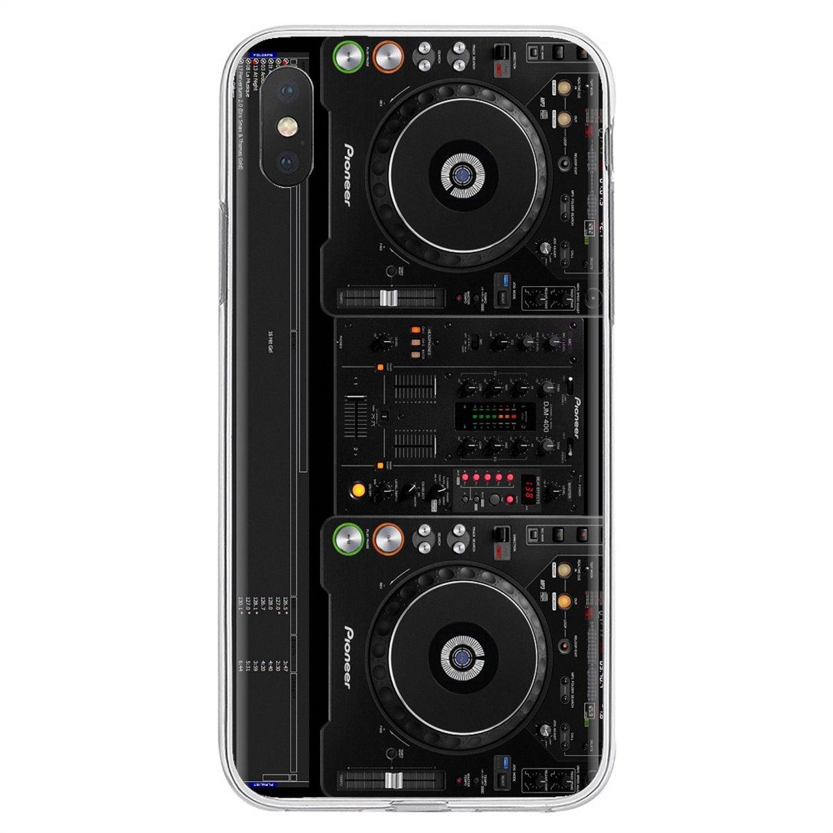 Para Xiaomi mi A1 A2 A3 5X6X8 9 9t Lite SE Pro mi Max Mix tableta amortiguador Tech accesorio beige Rojo Negro compruebe Tartan tableta amortiguador 2 disfrutar de la caja del teléfono de silicona Rane de Audio DJ mi xers centro de la guitarra