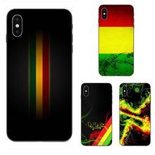 For Galaxy A8 A9 Star Note 4 8 9 10 S3 S4 S5 S6 S7 S8 S9 S10 Edge Lite Plus Pro G313 Soft Printing Rasta Reggae Human