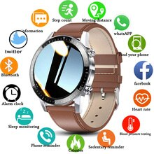 New Men Smart Watch Bluetooth Call Watch IP67 Waterproof Heart Rate Monitor Sports Fitness Watch For