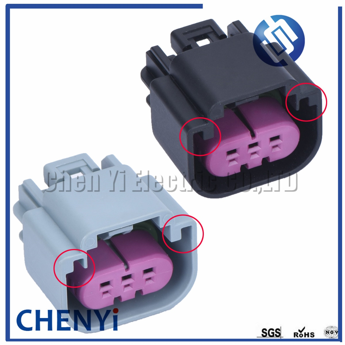 3 pin 1.5 series 13511132 Car waterproof Flex Fuel Sensor Oil Level Sensor Plug GT 150 Wiring Cable Auto Connector For BUICK BMW