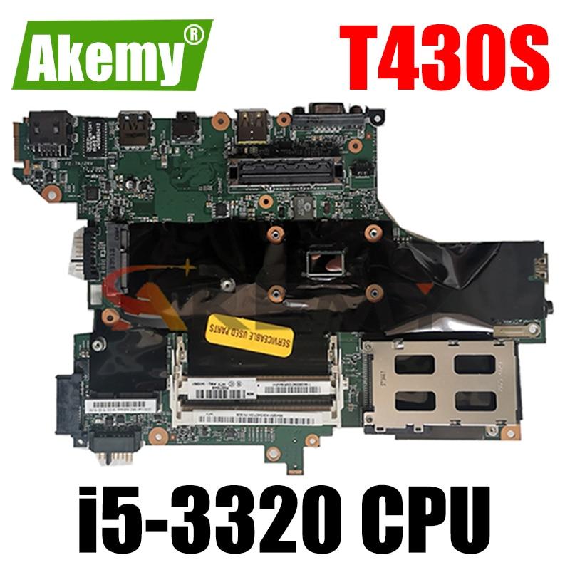 ثينك باد مناسبة fru 04X1565 04X3689 04Y1456 ل T430S i5-3320 المتكاملة بطاقة الفيديو اللوحة الأم