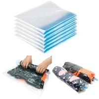 folding organizer for clothes vacuum compression storage bag foldable portable clothes storage bag transparent frame saves space