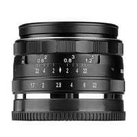Meike 35mm f1 7 Manual lens for fujifilm X Mount  For Nikon 1 Mount  for Canon EF-M M6 M50 M100 X-T20 X-T3 X-T2 X-T30 with APS-C