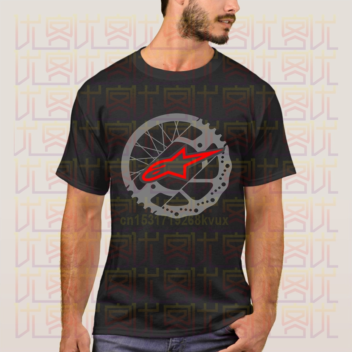 Alpine Star Rotor T-Shirt Tops Summer Tees Cotton O Neck T-Shirt  Amazing Short Sleeve Unique