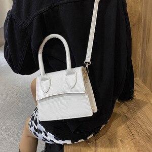 Crocodile pattern Small Tote bag 2020 Fashion New High quality PU Leather Women's Designer Handbag Travel Shoulder Messenger Bag