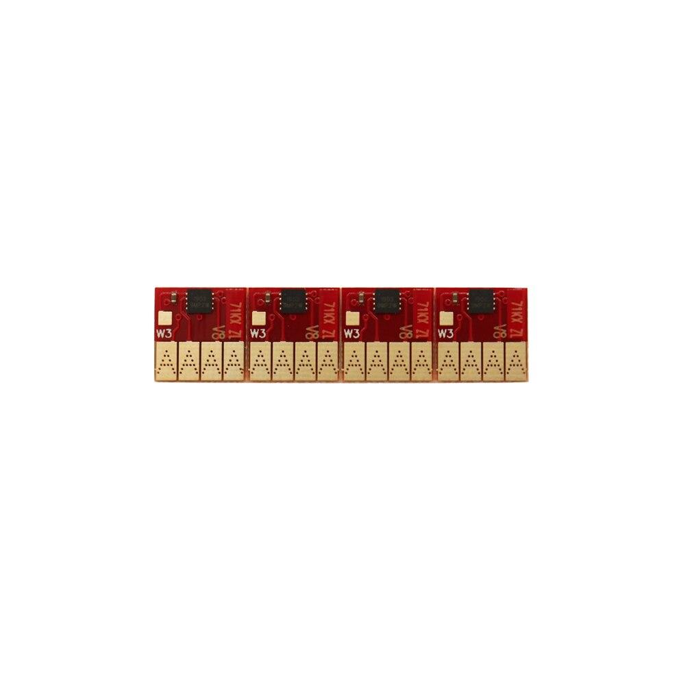 Chip de cartucho 711 Compatible con chip de arco de Chip permanente HP 711 para impresora HP Designjet T120 T520