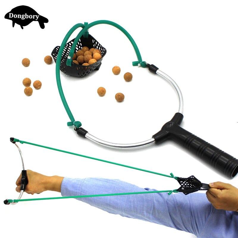 Инструменты для ловли карпа приманки Рогатка Метатель отправить выстрел Рыбалка Slingshot Sling Shot охотничьи инструменты приманки катапульты рыболовные аксессуары