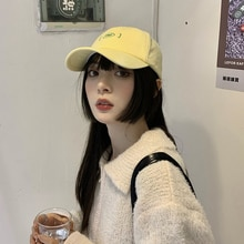 Women's Ins Fashion Brand Summer Korean Style Fashion All-Match Japanese Style Alphabet Baseball Cap