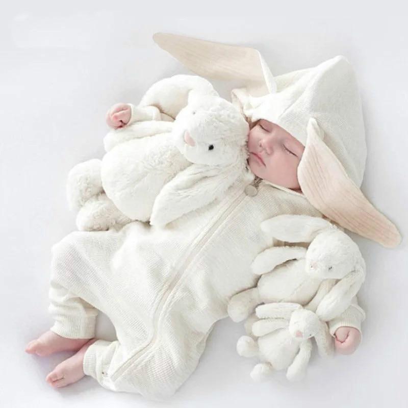Ins الأطفال حديثي الولادة ملابس ملتصقة هارلان رومبير الرضع كيمونو الخريف والشتاء