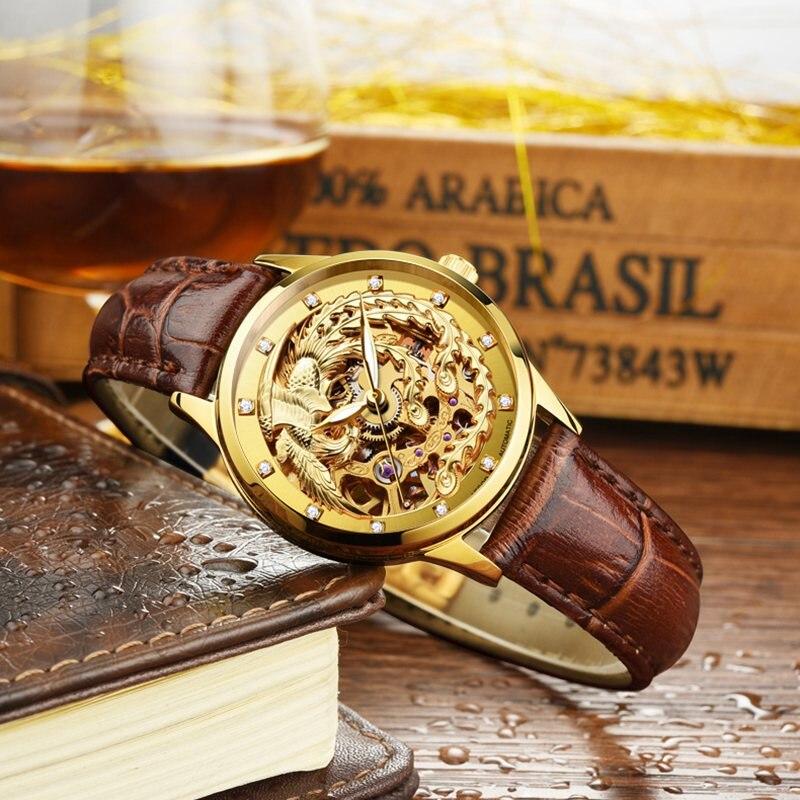 Aesop Tourbillon Fashion Women Watch Top Brand Luxury Female Wristwatch Automatic Machanical Watches Waterproof Reloj Mujer enlarge