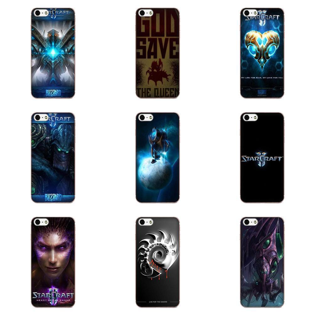 Fundas blandas de TPU para teléfono móvil Starcraft para Samsung Galaxy A51 A71 A81 A90 5G A91 A01 S11 S11E S20 Plus Ultra