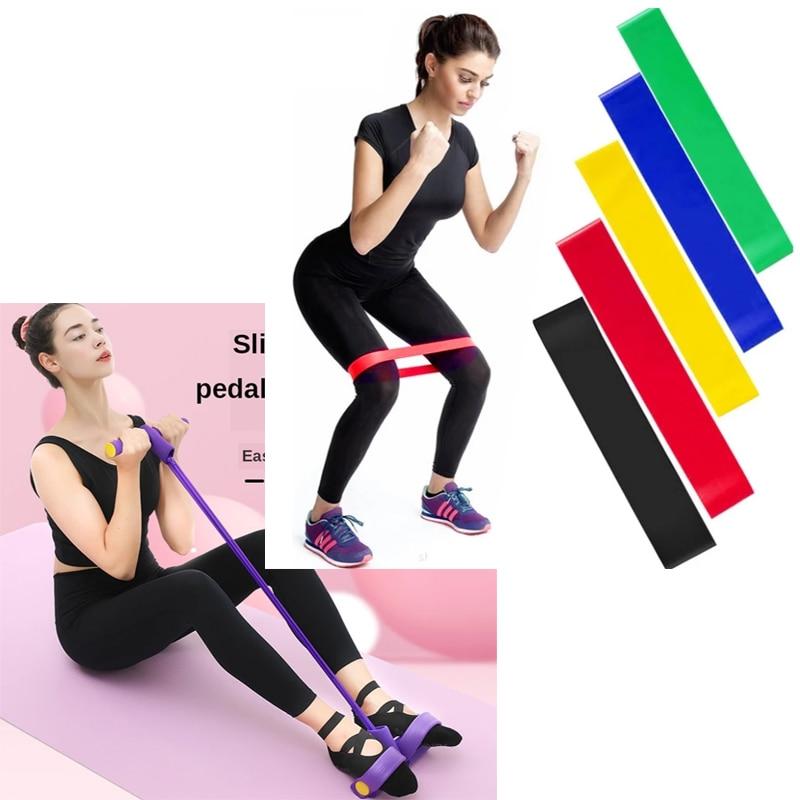 Pedal peito expansor fitness sentar-se perda de peso barriga fina yoga equipamentos rolo barriga casa elástico string resistência banda