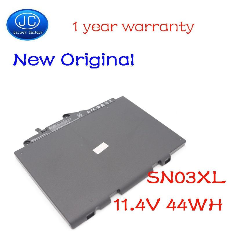 JC الأصلي SN03XL بطارية كمبيوتر محمول ل إتش بي EliteBook 820 725 G3 G4 800514-001 800232-241 HSTNN-UB6T HSTNN-DB6V 11.4V 44WH