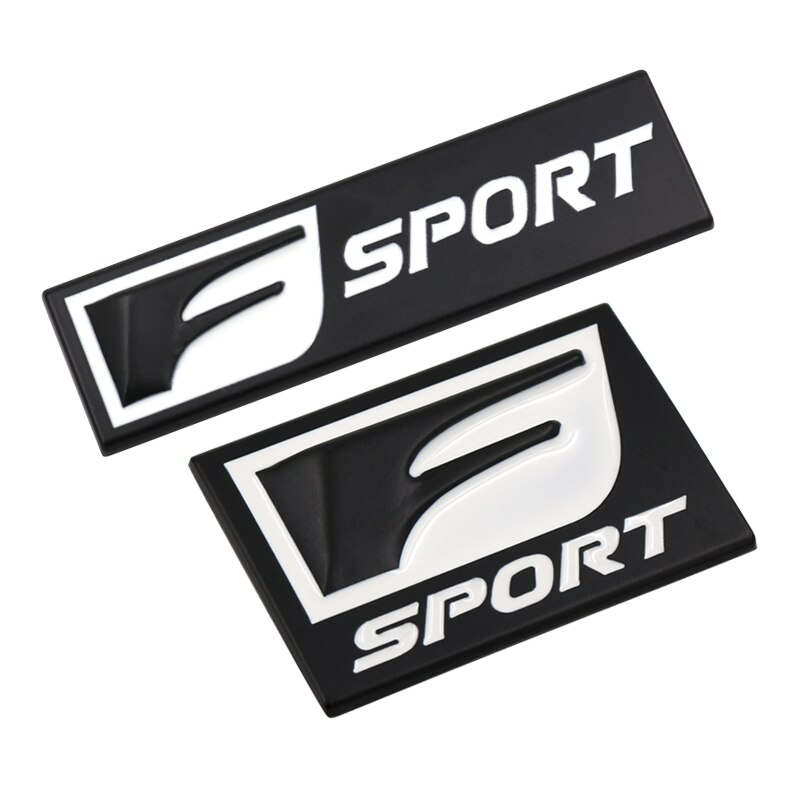 Pegatinas F Sport para Lexus IS200T IS250 RX300 NX RX GS RX330 RX350 CT200, emblema corporal, pegatina decorativa para coche