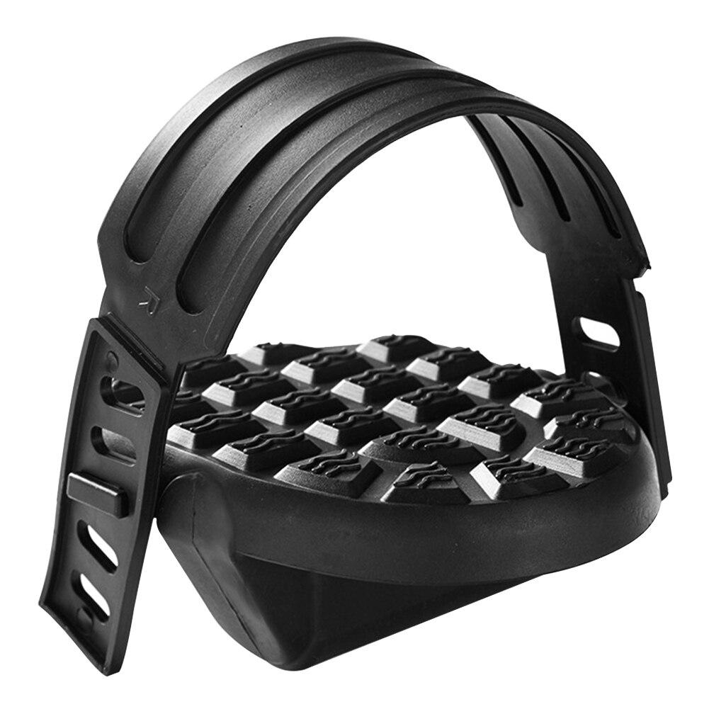 Pedales de bicicleta de plástico accesorios de ejercicio de Fitness magnético profesional deporte pies universales antideslizantes duradero