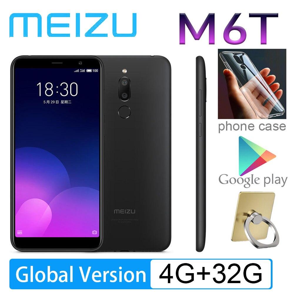 Meizu-teléfono inteligente M6T versión Global, Smartphone con pantalla completa de 98%