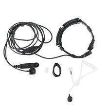Teleskop Throat Vibration Mic Hörer Mikrofon Headset für Baofeng UV-9R Plus BF-9700 BF-A58 UV-XR UV9R GT-3WP Walkie Talki