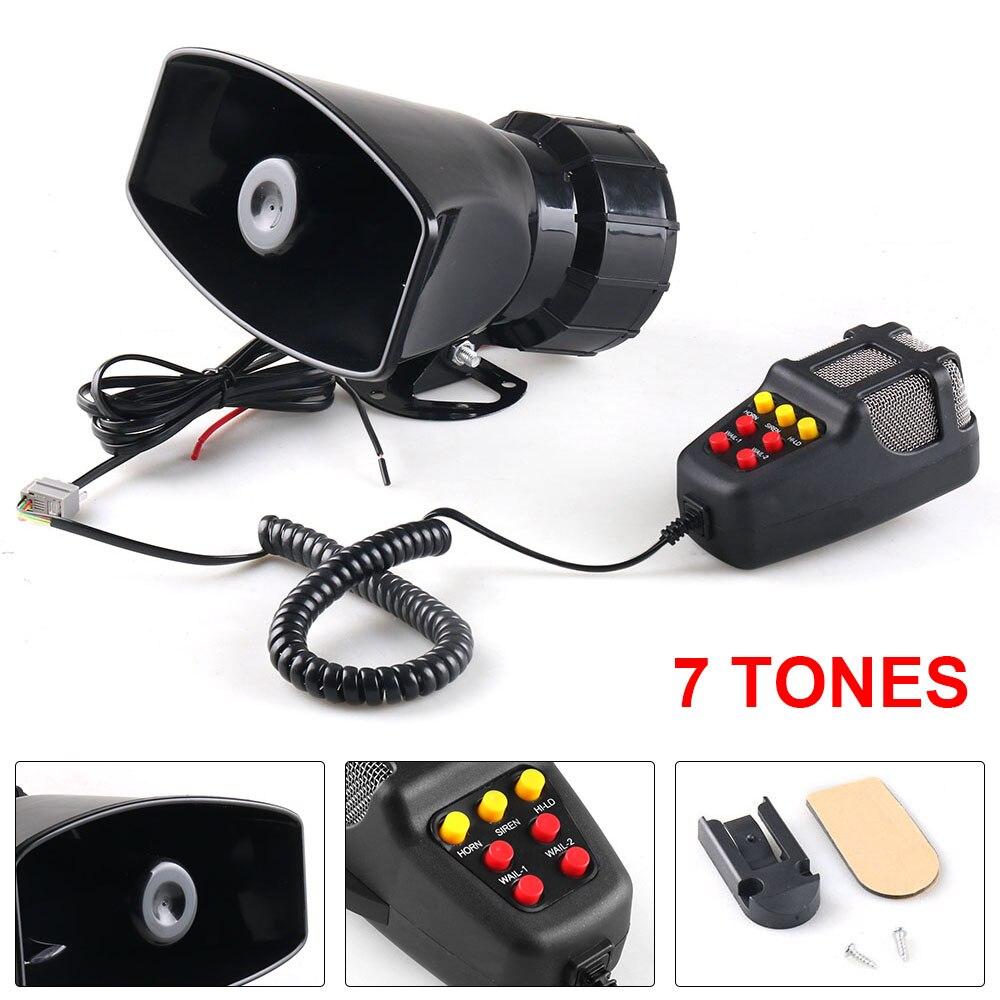 12 В 100 Вт 120 150 дБ 7 звуковая Автомобильная электронная Предупреждение сирена