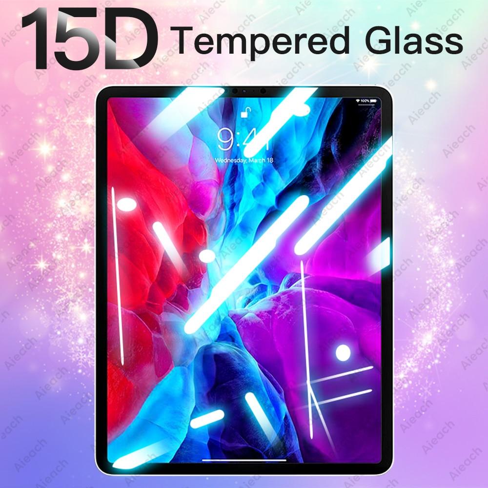 Закаленное стекло 15D для iPad Pro 11 10,5 9,7 2017 2018, Защита экрана для iPad Air 3 2 1 Mini 5 4, Защитная пленка для iPad 10,2 Защитные экраны для планшеов      АлиЭкспресс