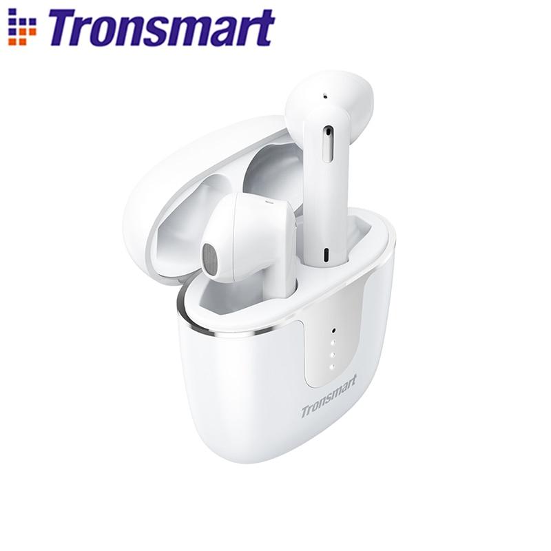 Tronsmart Onyx Ace TWS بلوتوث 5.0 سماعات كوالكوم aptX سماعات لاسلكية إلغاء الضوضاء مع 4 ميكروفونات ، 24H وقت اللعب