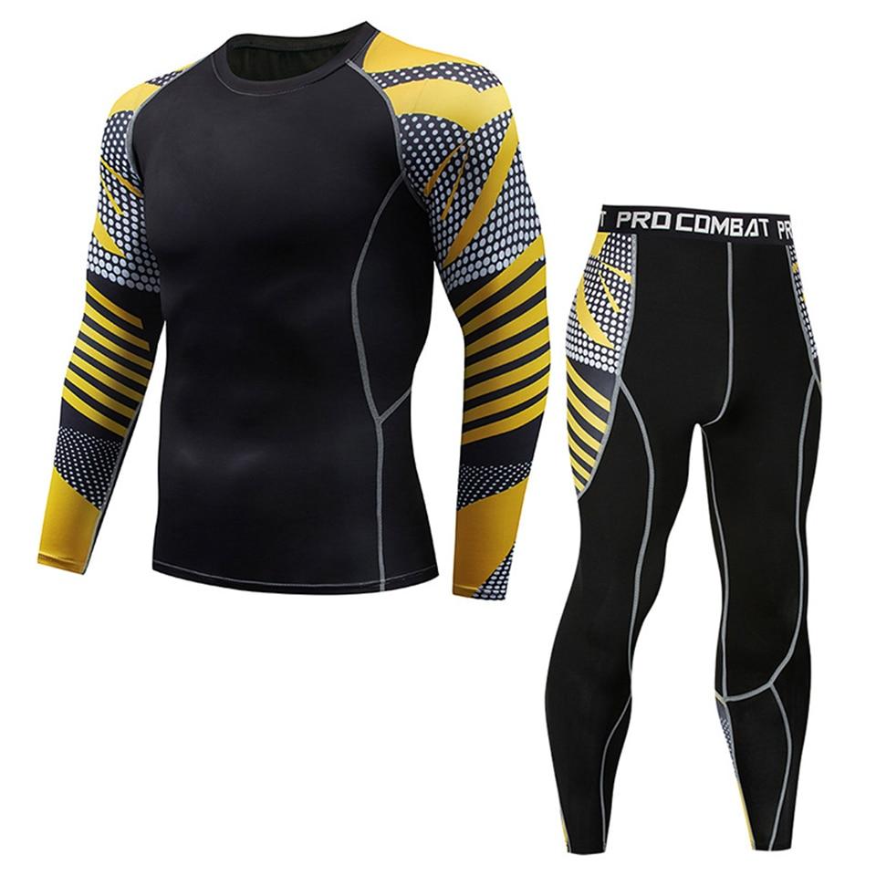 Conjuntos de compresión Mma, camiseta + pantalón Rash Guard, chándal deportivo Muay Thai Bjj, jerséis de boxeo, ropa de mma, traje deportivo