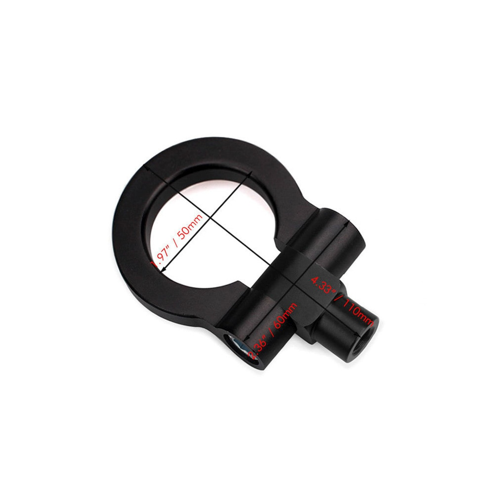 RASTP-Aluminum Towing Hook Ring Kit Universal Tow Hook Eye Towing Colorful For Most BYD RS-TH008-10 enlarge