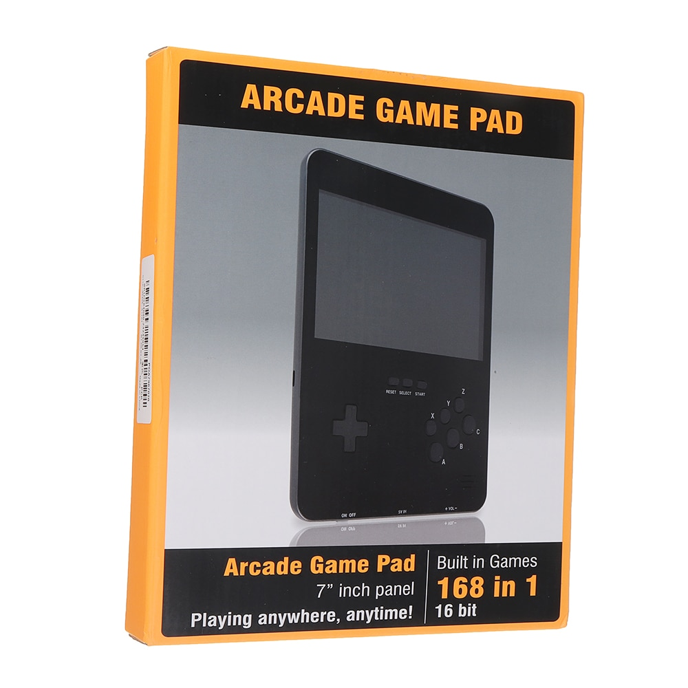 7inch Large Screen 16bit Handheld Game Players Android Tablet Handheld Retro Game Players Educational Games Console for Kid Gift enlarge
